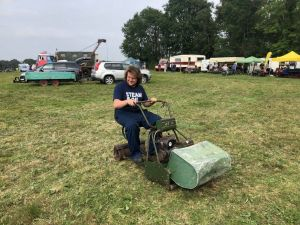 Jack and his B24 lawn mower