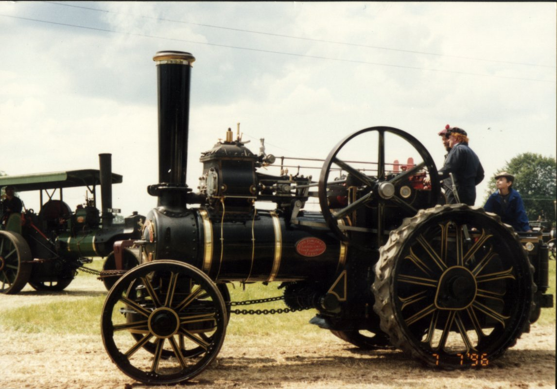 The real Albert the traction engine
