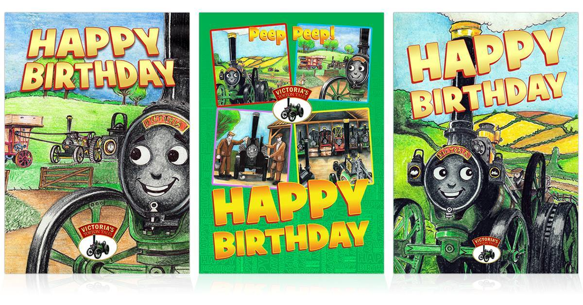A range of birthday and Christmas cards