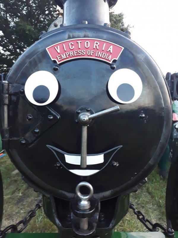 Victoria with her smiling face