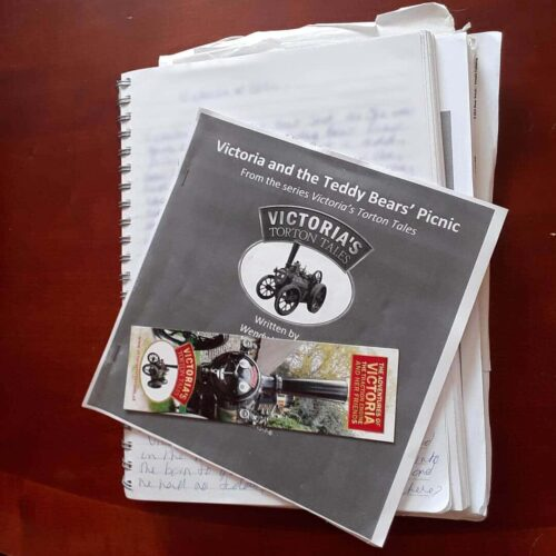 Early Draft - Book 4 Victoria's Torton Tales