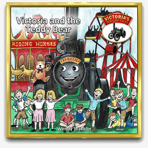Cover of Victoria and the Teddy Bear Children's Story Book