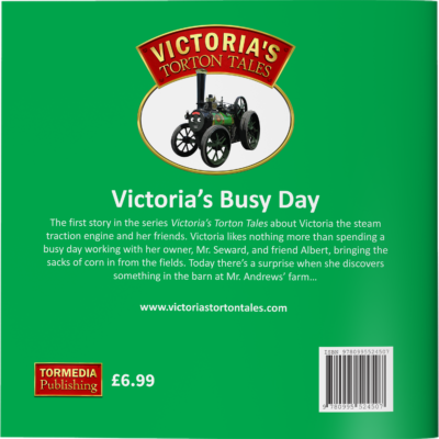Victoria's Busy Day Back Cover