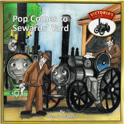 Pop Comes to Sewards' Yard Children's Picture Story Book