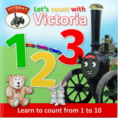 Let's Count With Victoria 1 2 3, Victoria's Torton Tales Early Learning Counting Book