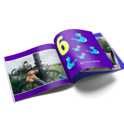 Let's Count With Victoria 1 2 3, Victoria's Torton Tales Early Learning Counting Book, Count 6