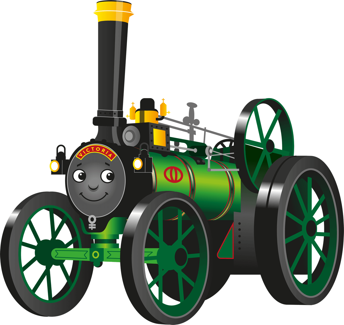 Victoria the Traction Engine