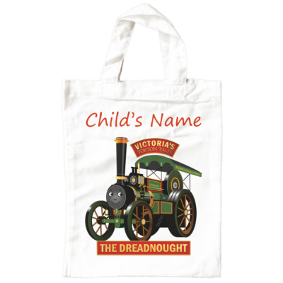 Dreadnought Child's Name Small Book Bag