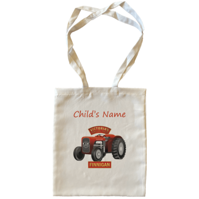 Finnigan Child's Name Large Tote Bags