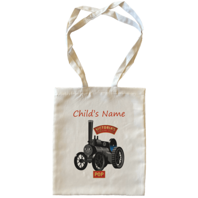 Pop Child's Name Large Tote Bags